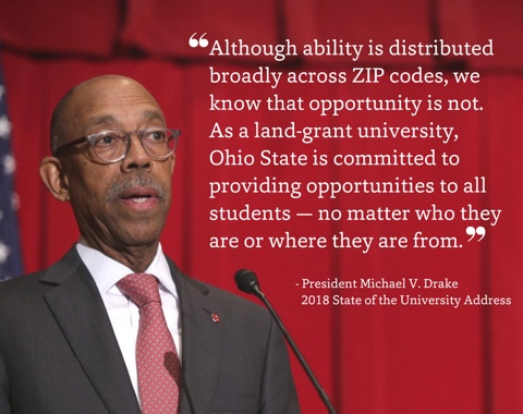Keeping College Affordable - Michael V. Drake, The Ohio State University president